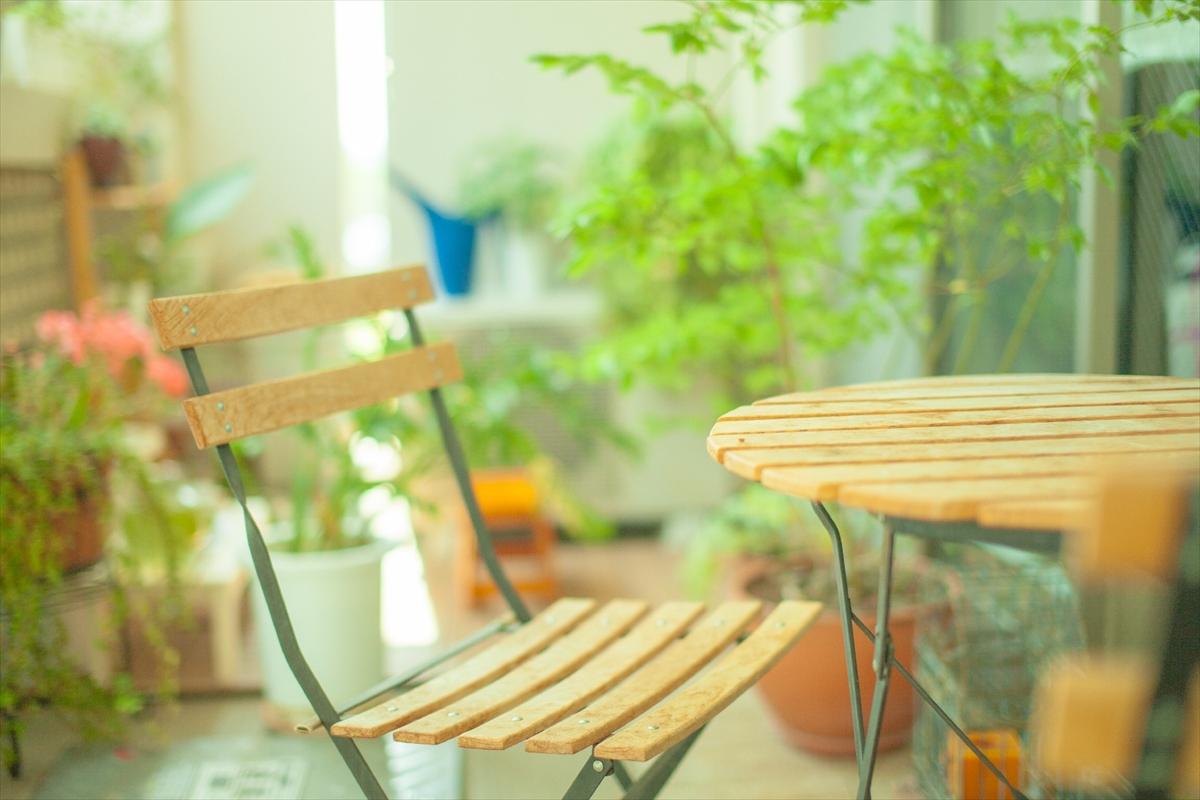 いらなくなった椅子やテーブルも片づけしましょう