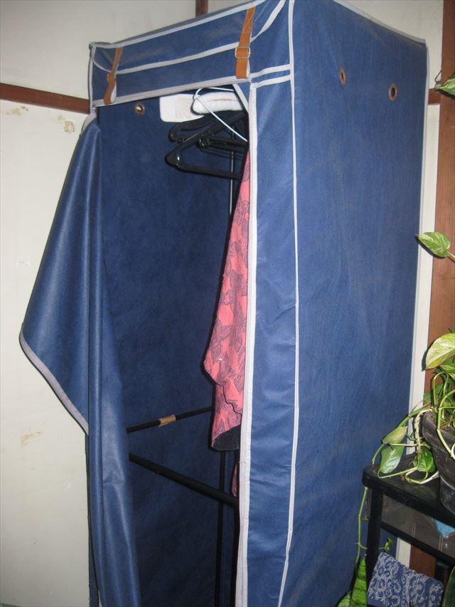 衣装ケース回収