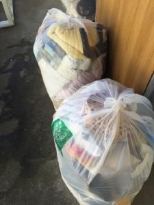 袋ゴミ処分