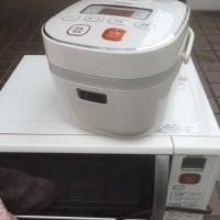 電子レンジ炊飯器