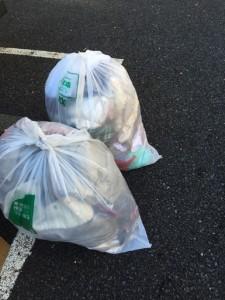 衣類 ゴミ回収